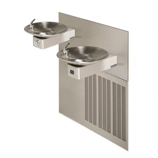 Sensor Based Hi-Lo Wall Mounted Barrier-Free Water Cooler