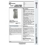 Electrolux 2 half door  Refrigerator 790128