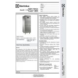 Electrolux 2 half  door  freezer  - 790129